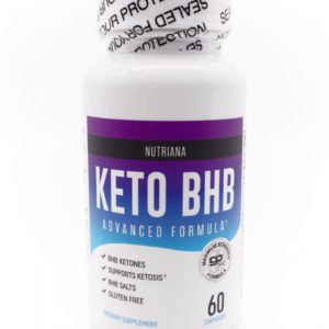 Nutriana Keto Diet BHB Pills 外源酮丸 60粒