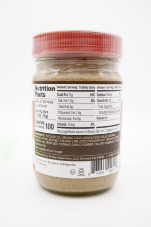 Primal Kitchen Chipotle Lime Mayo with Avocado Oil 355ml