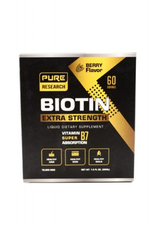 Extra Strength 10000mcg 液態生物素 Biotin