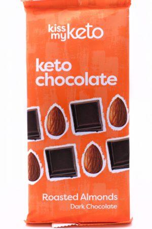 Kiss my keto Keto Dark Chocolate, Roasted Almonds