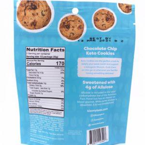 Kiss my Keto Keto Cookies, Chocolate Chip