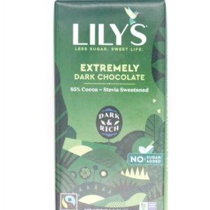 Lily's Chocolate 特濃朱古力 Extremely Dark 85% 3oz