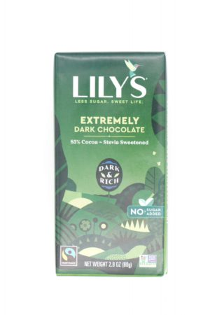 Lily's Extremely Dark Chocolate 85 % 3oz