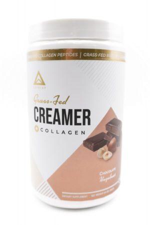 LevelUp® Keto Coffee Creamer 純C8中鏈脂肪酸+草飼骨膠源 榛子朱古力味198g