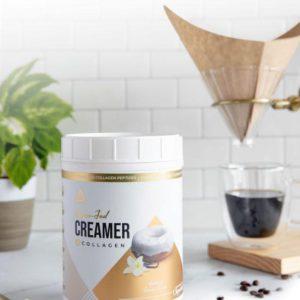LevelUp® Grass-Fed Keto Coffee Creamer Vanilla Sweet Cream 198g