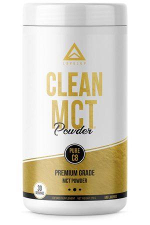 LevelUp® MCT oil 100%純C8中鏈脂肪酸粉劑 270g