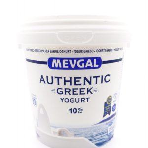 Mevgal Authentic Greek Yogurt 10%Fat 1kg