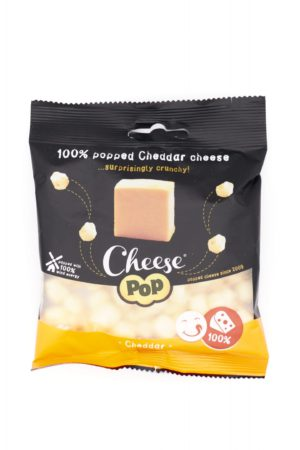 Cheesepop 100%荷蘭車打芝士鬆脆粒 20g