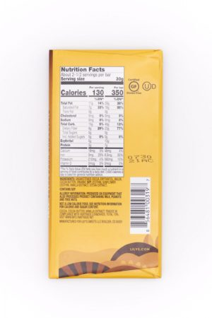 Lily's Extra Dark Chocolate 70% 3oz
