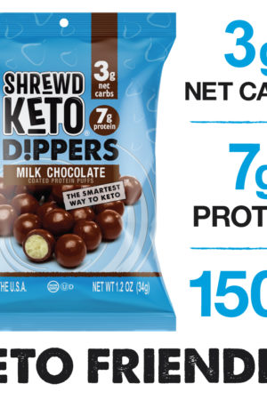 SHREWD FOOD Milk Chocolate Keto Dippers