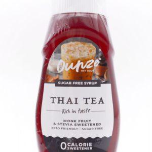Ounze syrup 生酮糖漿 泰式奶茶味 320ml