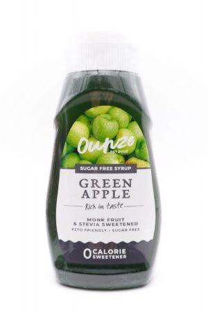 Ounze keto syrup green apple flavor 320ml