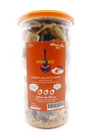 PRIK ME 泰國生酮三文魚魚皮 咸蛋黃味 95g
