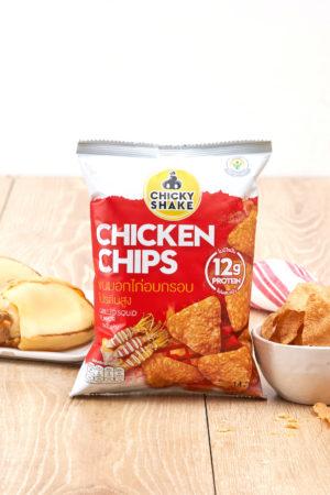 Chicky Shake Chicken Chips - Grilled Squid 14g