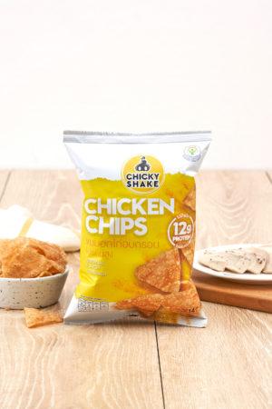 Chicky Shake Chicken Chips - Original 14g