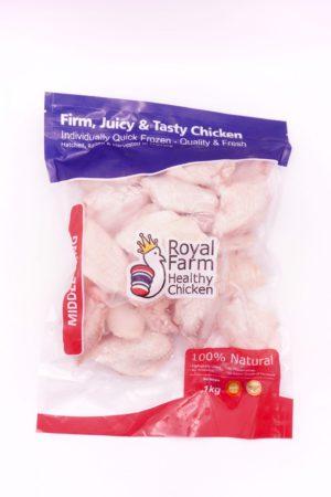 Royal Farm 無激素健康 雞中翼 1kg