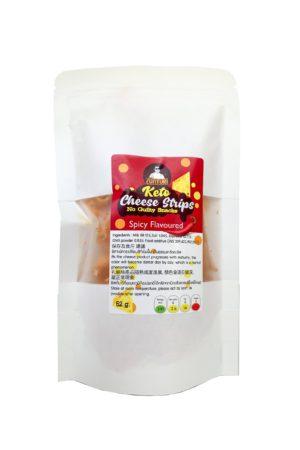Sunturi Keto Cheese Strips Spicy 52g