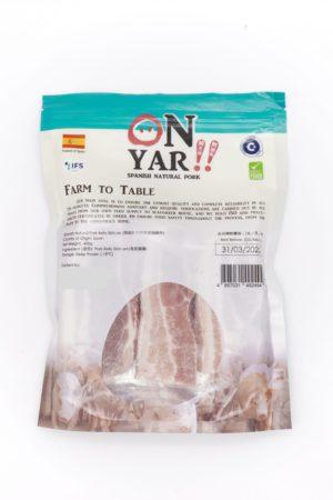康力豬 西班牙天然有皮豬腩件 400g