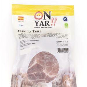 康力豬 西班牙天然梅頭肉扒 400g