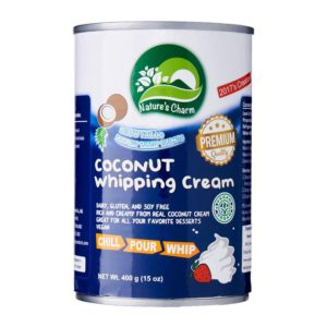 Nature's Charm coconut whipping cream 400ml