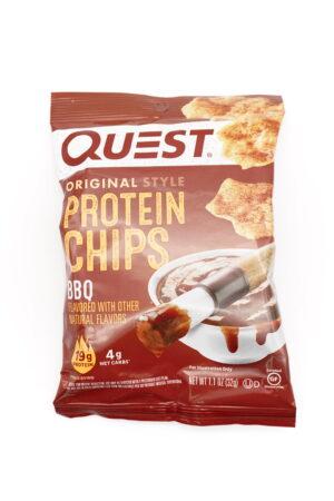 Quest 玉米餅蛋白脆片 BBQ味 32g