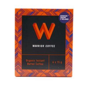 Warrior Coffee 芬蘭全有機優質防彈咖啡 原味 (1盒6杯)