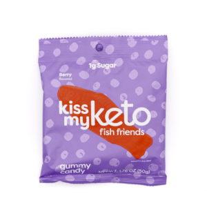 Kiss My Keto Gummies 魚仔軟糖