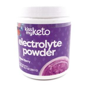 Kiss My Keto electrolyte powder Mixed Berry 360g