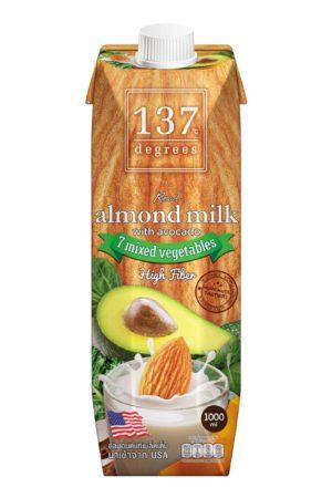 137 Degrees 牛油果杏仁奶 1公升