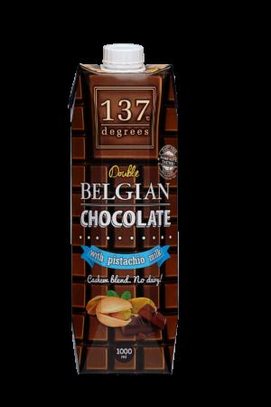 137 Degrees 雙重比利時朱古力開心果奶 1公升