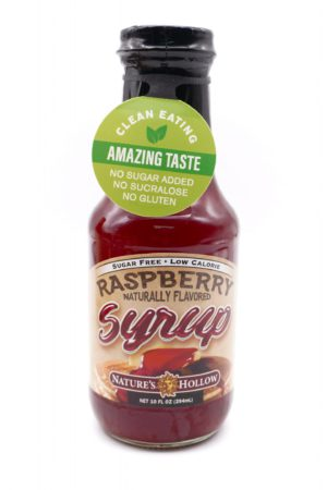 Nature's Hollow Keto Raspberry Syrup 294ml