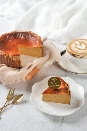 Jessie Keto 生酮巴斯克蛋糕 焦糖咖啡味