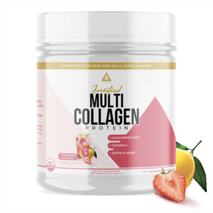 LevelUp® Fortified Multi-Collagen Protein Strawberry Lemonade 342g