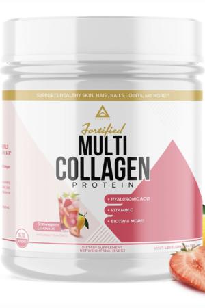 LevelUp® 強化複合膠原蛋白 士多啤梨檸檬味 342g