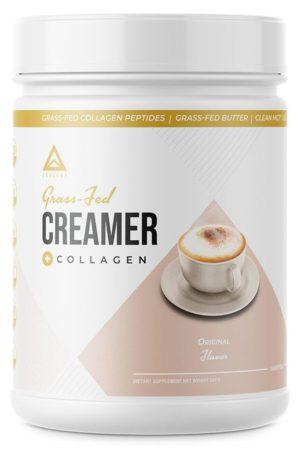 LevelUp® Keto Coffee Creamer 純C8中鏈脂肪酸+草飼骨膠源 原味 (無甜味) 198g