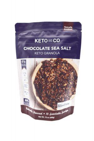 Keto And Co 生酮granola 海鹽朱古力堅果脆 285g