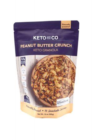 Keto And Co 生酮granola 花生醬堅果脆 285g