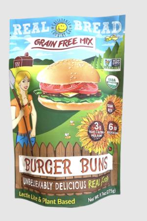 California Country Gal 有機生酮漢堡包預伴粉 275g