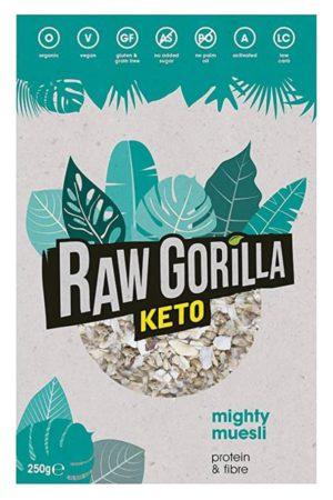 Raw Gorilla Keto 生酮有機原味堅果脆 250g