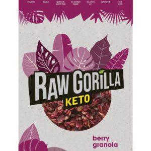 Raw Gorilla Keto 生酮有機雜莓堅果脆 250g