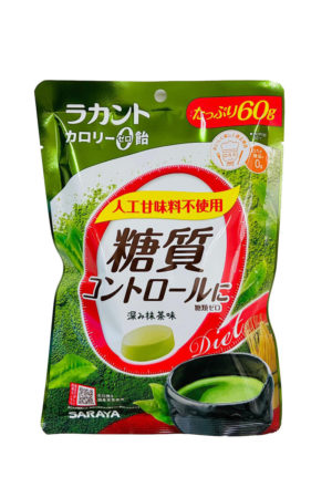 Saraya 零卡零糖 抹茶味硬糖 60g