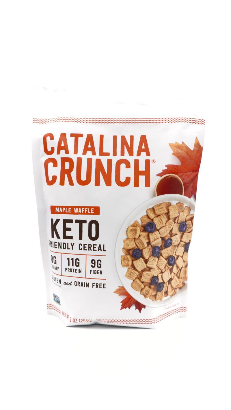 Catalina Crunch 低碳高蛋白質早餐脆片 楓糖窩夫味 255g