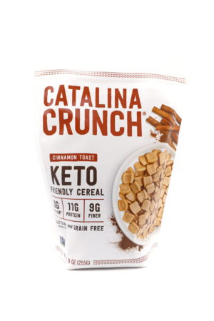 Catalina Crunch 低碳高蛋白質早餐脆片 肉桂多士味 255g