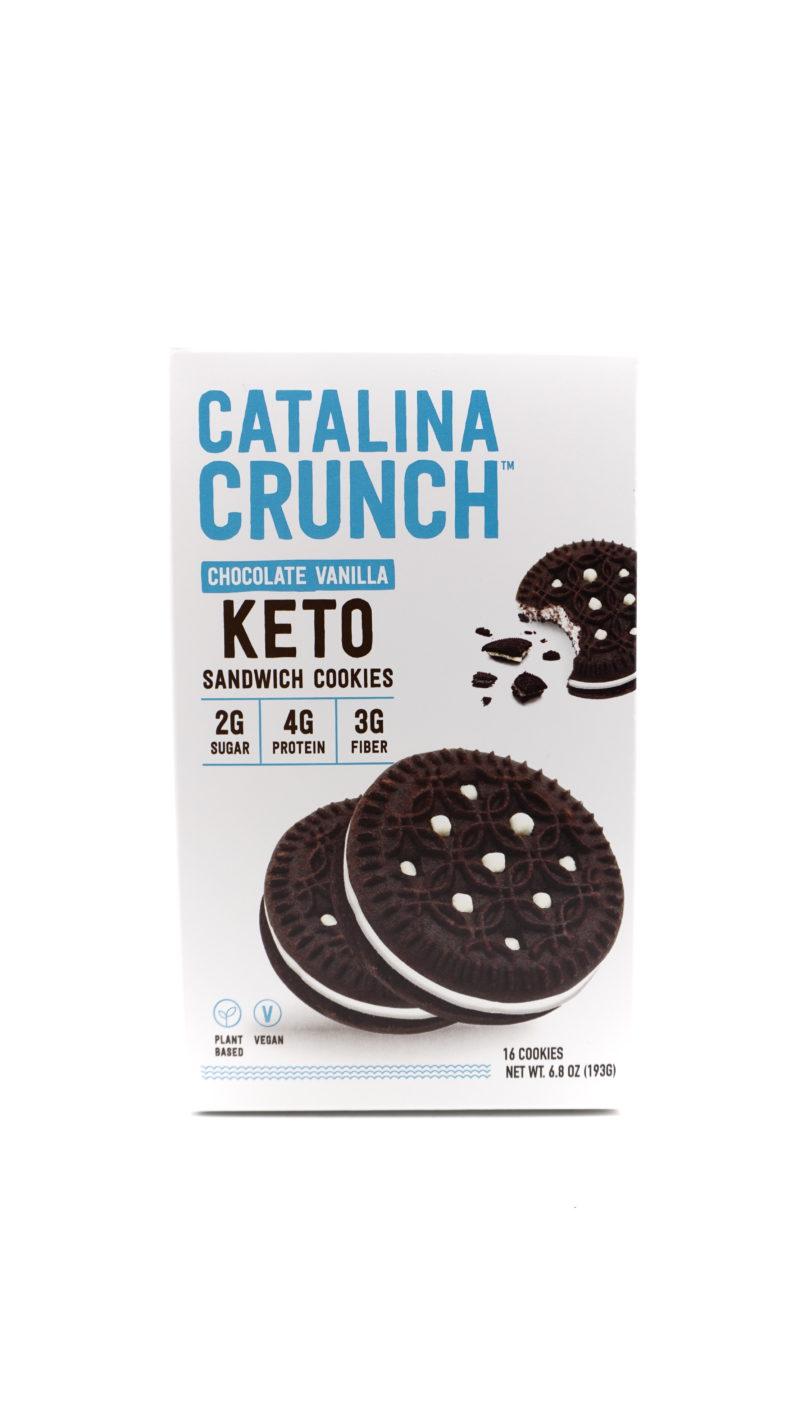 Catalina Crunch 低碳夾心曲奇 193g 雲呢拿朱古力味