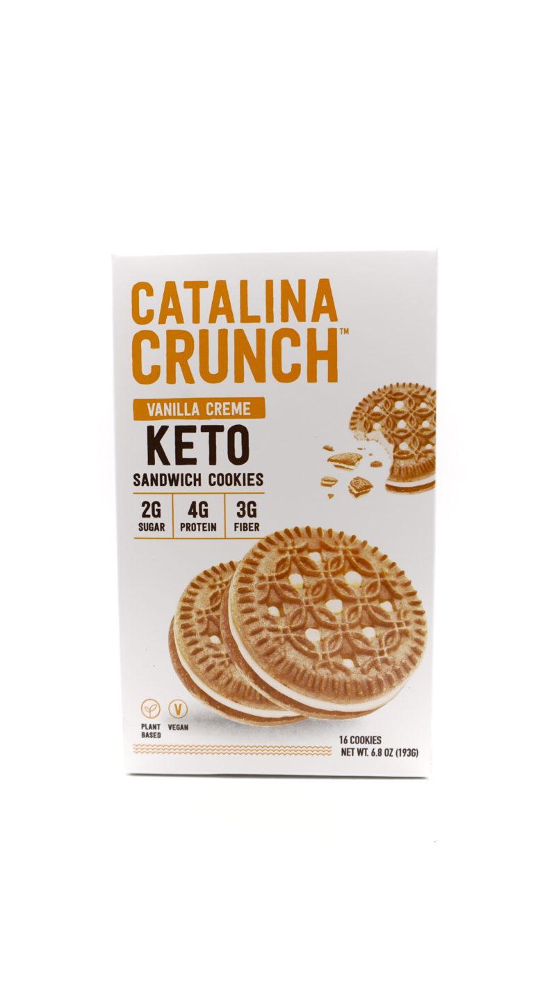 Catalina Crunch 低碳夾心曲奇 193g 雲呢拿忌廉味