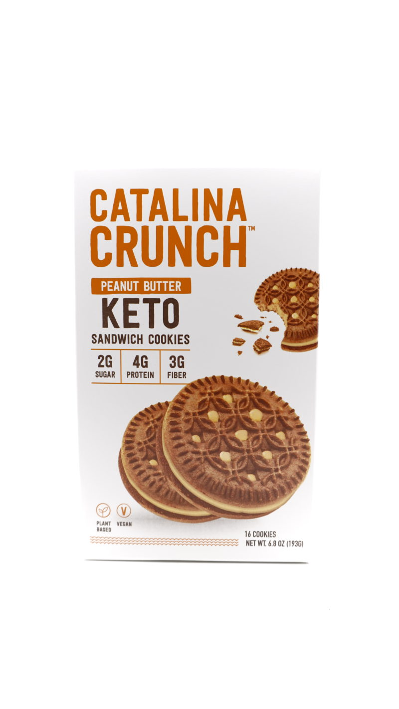 Catalina Crunch 低碳夾心曲奇 193g 花生醬味