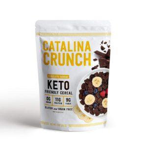 Catalina Crunch 低碳高蛋白質早餐脆片 朱古力香蕉味 255g