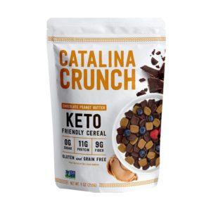 Catalina Crunch 低碳高蛋白質早餐脆片 朱古力花生醬味 255g