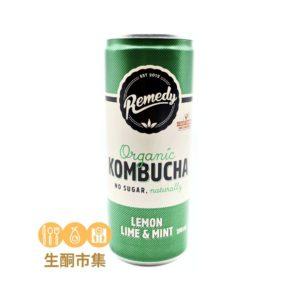 澳洲有機紅茶菌 250ml 檸檬薄荷味罐裝