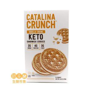 Catalina Crunch 低碳夾心曲奇 雲呢拿忌廉味 193g